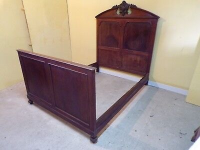 King Size Henri II double bed C1890 NO RESERVE