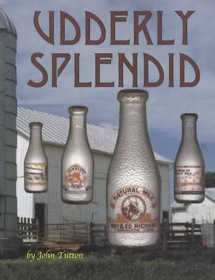 Udderly Splendid  Milk Bottle ID Book Cream +