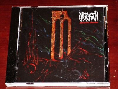 Obliteration: Cenotaph Obscure CD 2019 Dark Descent Records USA DDR222CD NEW