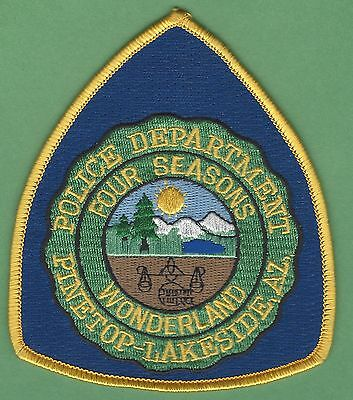 Pinetop - Lakeside Arizona Police Patch