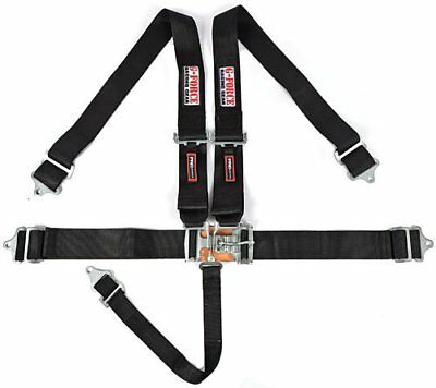 G-FORCE 6000BK Pro-Series Latch & Link 5-Point Individual Harness