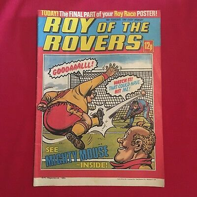 Roy of the Rovers Comic 16th February 1980, Good Condition