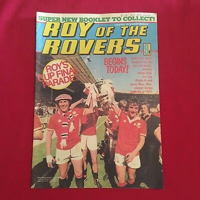 Roy of the Rovers Comic 7th April 1979, Good Condition