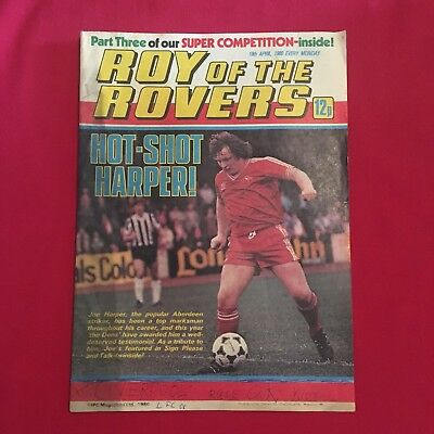 Roy of the Rovers Comic 19th April 1980, Good Condition
