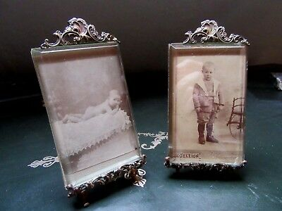 FRENCH ANTIQUE Late XIX th. C. PAIR OF PICTURE FRAMES LOUIS XV STYLE