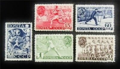 nystamps Russia Stamp # 784-788 Mint OG H $35