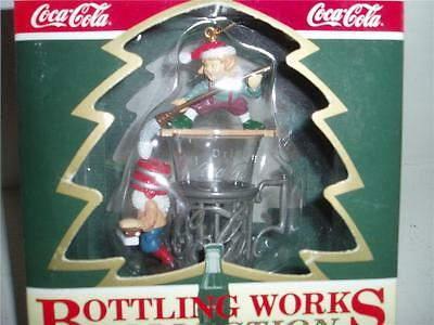 Coca Cola Bottling Works COLLECTION Ornament New