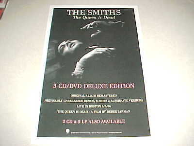 """The Smiths """"Queen Id Dead"""" PROMO ONLY POSTER - PERFECT CNDT"""