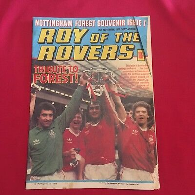 Roy of the Rovers Comic 15th September 1979, Acceptable Condition