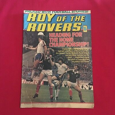 Roy of the Rovers Comic 11th August 1979, Good Condition