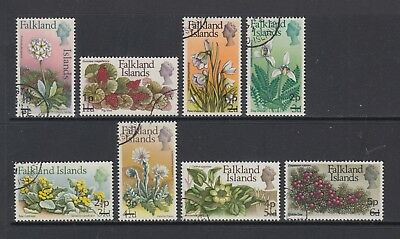 Falkland Islands: 1971 Short Set of 8 Stamps to 5p on 6d SG263-270 Used BY263
