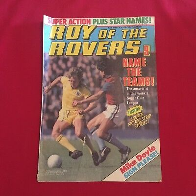 Roy of the Rovers Comic 17th March 1979, Good Condition