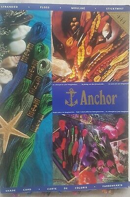 ANCHOR Shade Card Sample Book Color Book