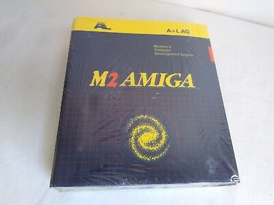 M2 Amiga Complete Modula-2 Software Development System -Brand New Sealed -A+L AG