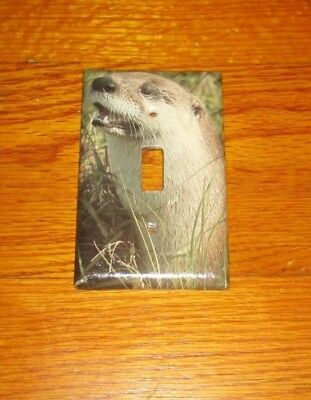 Wild Animal River Otter Light Switch Cover Plate