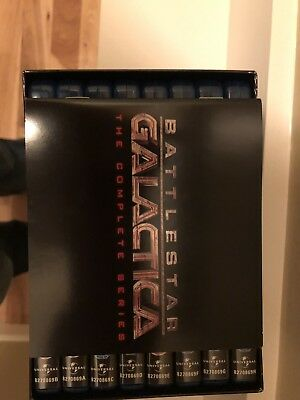 Battlestar Galactica Complete Series Blu-Ray with Booklet