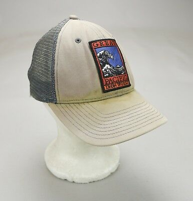 Vintage Patagonia Great Pacific Iron Works Trucker Hat Cap Chouinard GPIW •  RARE 1c91f60dc40