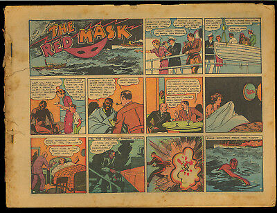 Best Comics #1 SCARCE Coverless 1st African American Superhero Rare Comic 1939