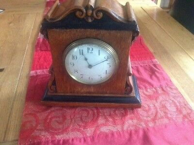 Early Mantle Clock French Movement