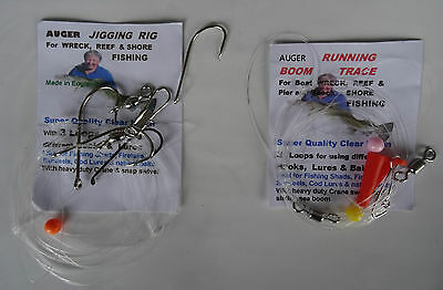 2 Sea Rigs -Jigging Rig & Flowing Trace Rig