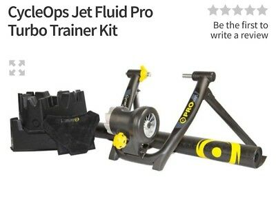 CycleOps Jet Fluid Pro Winter Training Kit hardly used excellent condition