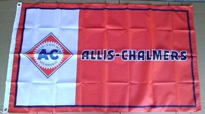 Allis - Chalmers Tractor Flag 3' X 5' Polyester Farm Equipment NEW # 645