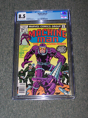 Marvel Comic  11978 Machine Man    First Issue   #1  Cgc 8.5  Grade