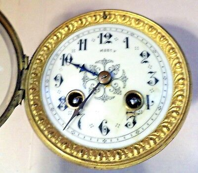 12. Antique French  Mantle Movement Clock