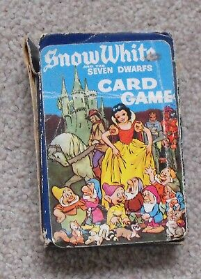 Snow White and the Seven Dwarfs.  A Pepys Card game. Disney