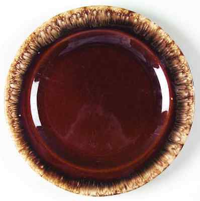 Hull BROWN DRIP Luncheon Plate 7007300