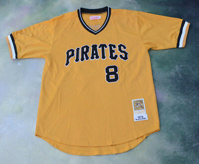 new styles 4dc1f 710c3 MITCHELL & NESS 1979 Pittsburgh Pirates Willie Stargell #8 Jersey Size 54.