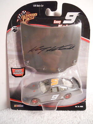 9A 2006 KASEY Kahne Rare Grey Test Dodge Hood Series Winners Circle