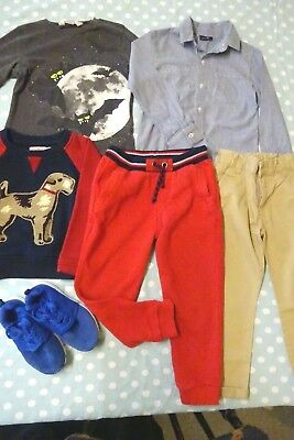 Boys Clothes Bundle Age 3-4 Years Cath Kidston Next M&S Joggers Trainers Jumper