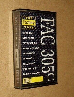 The Factory Records -  Cassette Tape - New Order - Happy Mondays - Fac 305C
