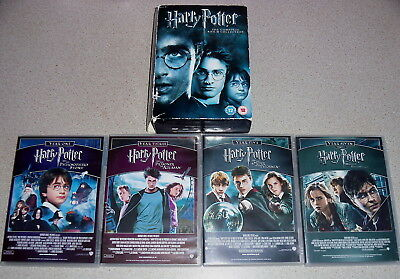 Harry Potter Complete Collection 1-8 (8 Dvd Boxset) Genuine Uk