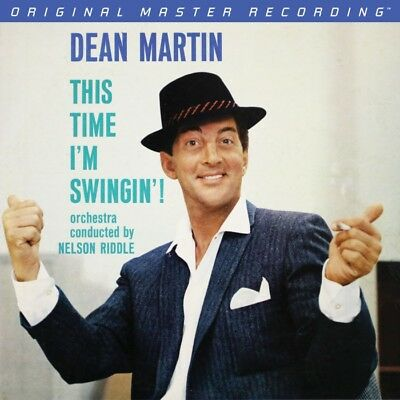 DEAN MARTIN THIS TIME I'M SWINGIN'! MOFI 1-410 180g NUMBERED UVP € 49.00