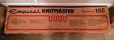 Empisal Knitmaster 155 Professional Chunky Knitting Machine & Knitting Table.