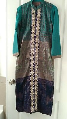 Pakistani long Jamawaar Kameez