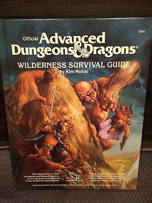 AD&D Wilderness Survival Guide (1986, Hardcover)