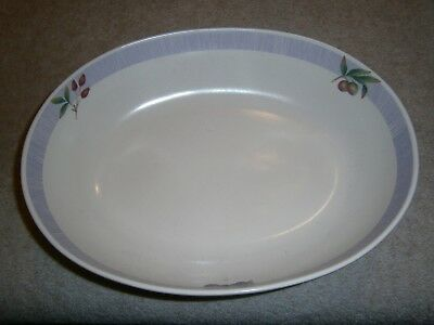 Wonderful Marks & Spencer Wild Fruits Large Oval Serving Dish Great Cond