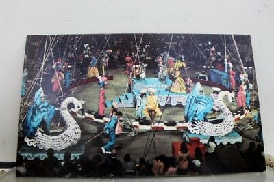 Ad Ringling Bros Barnum Bailey Circus Postcard Old Vintage Card View Standard PC
