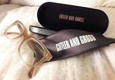 Cutler And Gross - Archive M: 1014 Spectacles / Glasses NEW £295 Humble Potato