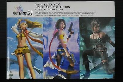 JAPAN Final Fantasy X-2 Visual Arts Collection (CG & Illustration Works Book)