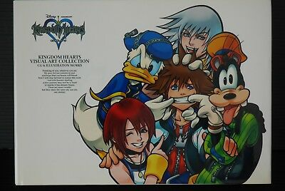 JAPAN Disney / Kingdom Hearts Visual Arts Collection (Art Book)