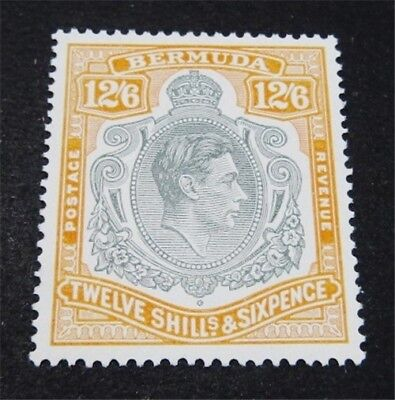 nystamps British Bermuda Stamp # 127 Mint OG H $88