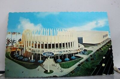 New York NY Ford Motor Company Worlds Fair Postcard Old Vintage Card View Post