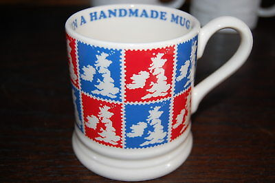 NEW Emma Bridgewater for Starbucks Red Blue LONDON Handmade Mug