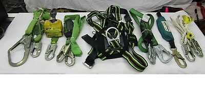 Climbing Safety Harness Full Body Harness Climbing Harness w/6 Safety Acessories
