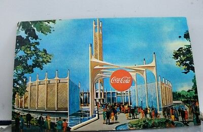 New York NY Coca Cola Company Worlds Fair Postcard Old Vintage Card View Post PC