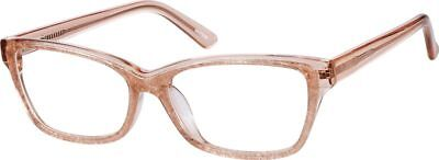 f04e5a393ae Zenni Optical 4425019 Cat-Eye Glasses Frames + Case Only Prissy Librarian